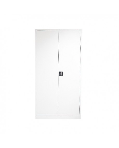 Talos Double Door Stationery Cupboard 1790 White KF78755