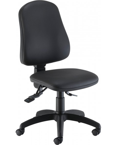 Jemini Teme Deluxe High Back Operator Chair Polyurethane CH2801PU