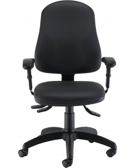 Jemini Intro Posture Chair with Arms Polyurethene CH2810PU+AC1040