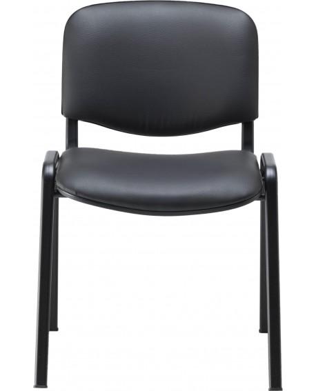 Jemini Ultra Multipurpose Stacker Chair Black Polyurethane CH0500PU