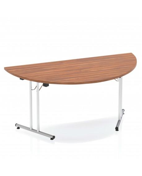 Impulse folding Semicircle Table