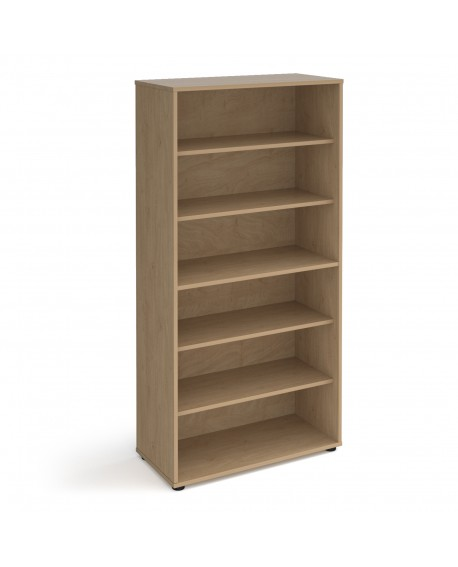 Universal bookcase 1715mm high with shelves