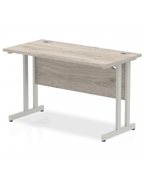 Impulse Cantilever Leg Rectangle Desk 600mm deep