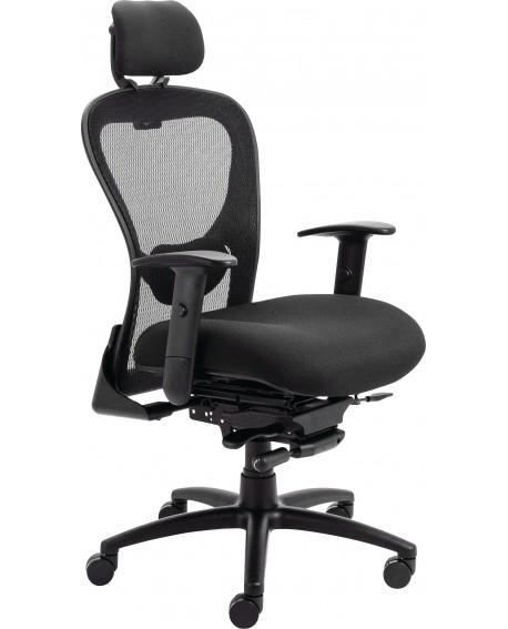 Arista Amber High Back Mesh Chair Black KF90700