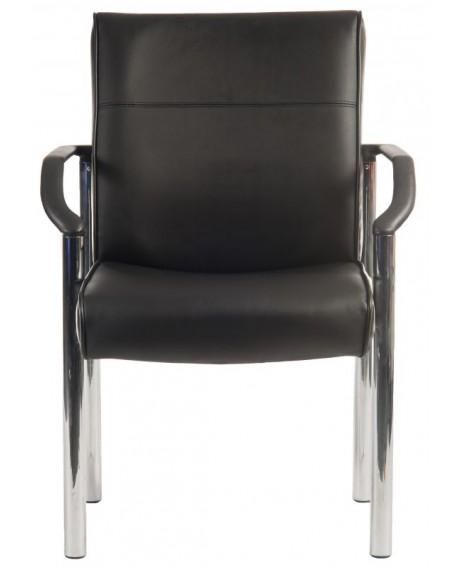 Greenwich Bonded Leather Reception Chair