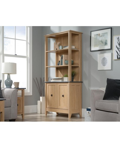 Shaker Style Bookcase With Doors