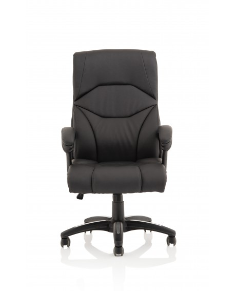 Detroit Black PU Leather Executive Chair