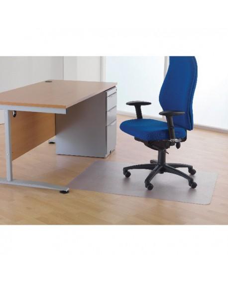 Cleartex Chair Mat For Hard Floors 1500x1200x2.2mm Clear FL1215225EV