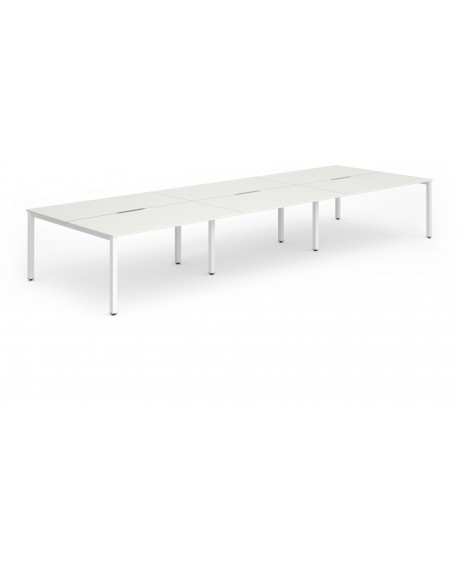 Evolve B2B Bench Desk (6 Pods)