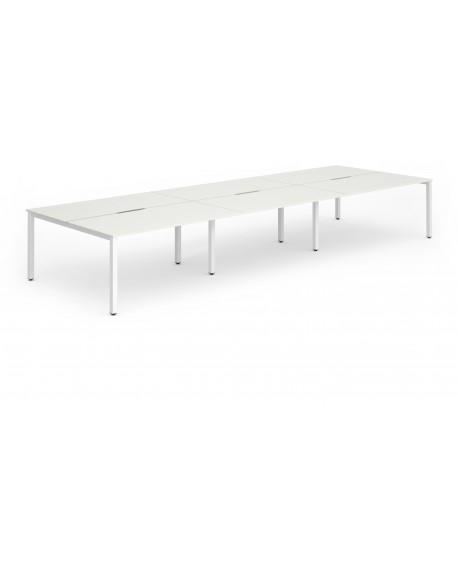Evolve Plus B2B Bench Desk (6 Pods)