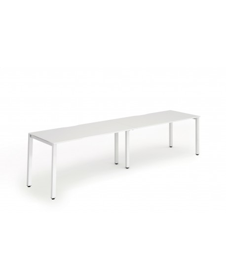 Evolve Single Bench Desk (2 Pods)