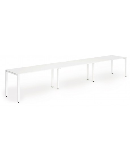 Evolve Single Bench Desk (3 Pods)