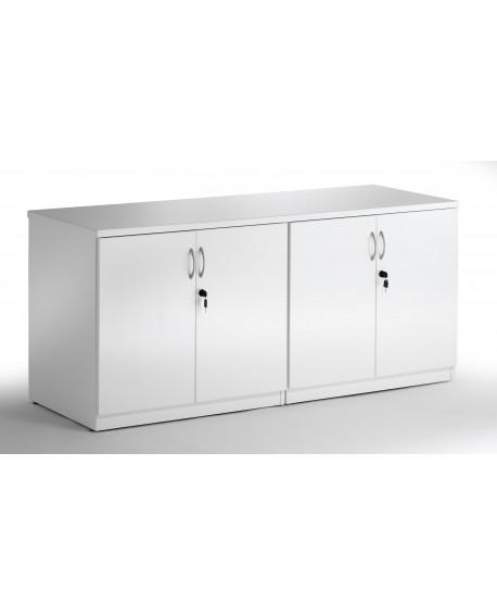 High Gloss Credenza Twin Cupboard