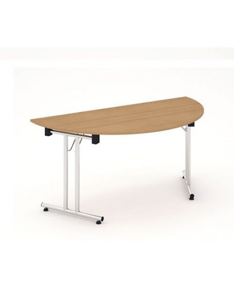Impulse folding Semicircle Table