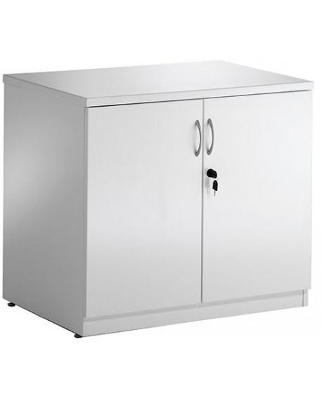 High Gloss Desk High Cupboard