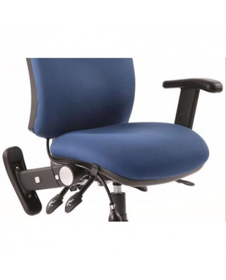 Chiro Swivel Back And Height Adjustable Foldaway Arm