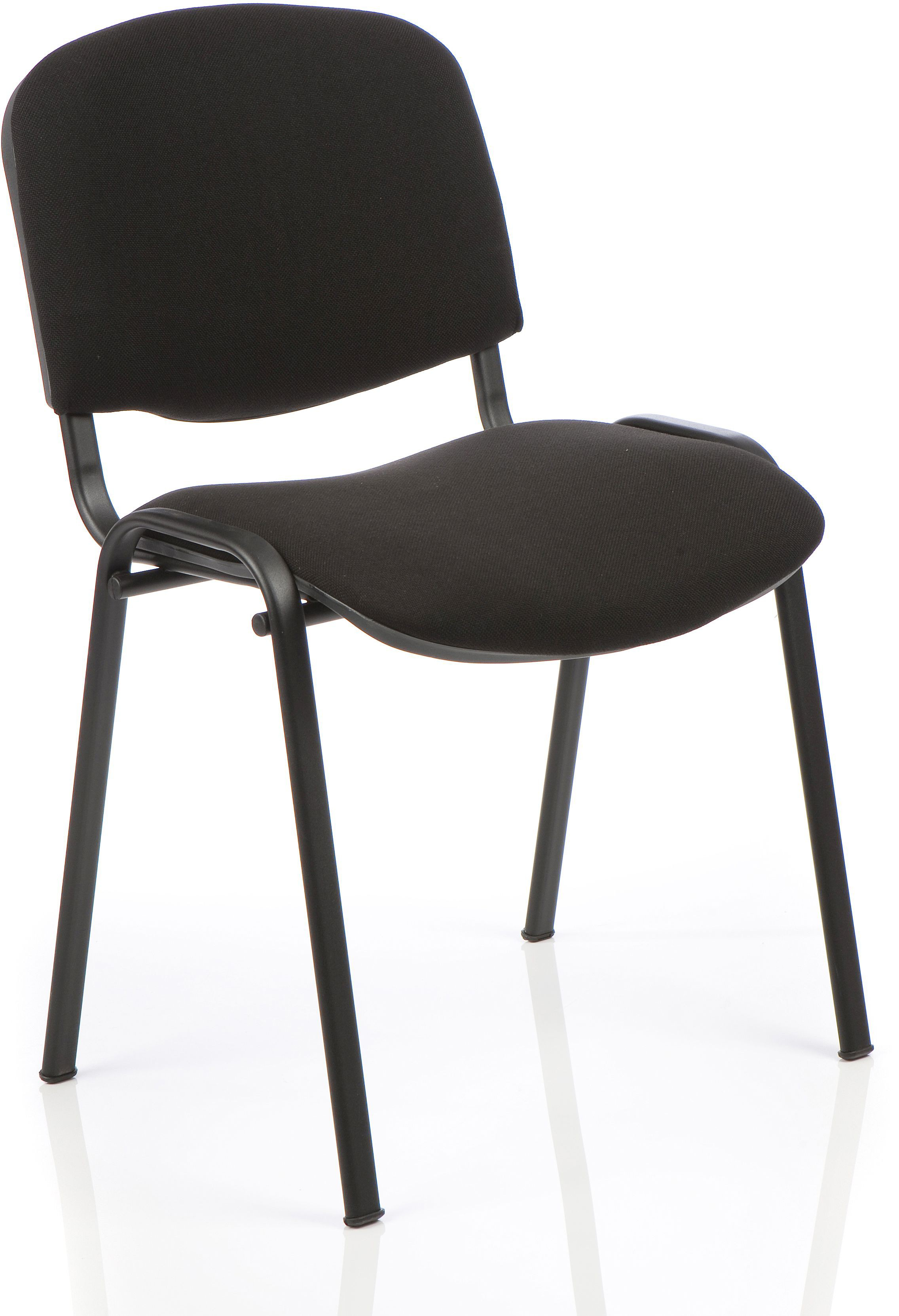 4 x Conference Stacking Chair Charcoal fabric Bundle Offer
