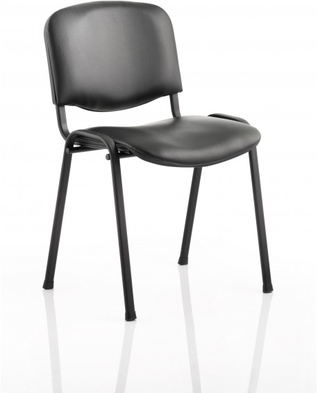ISO Vinyl Stacking Chair (Min Order Qty x 4)