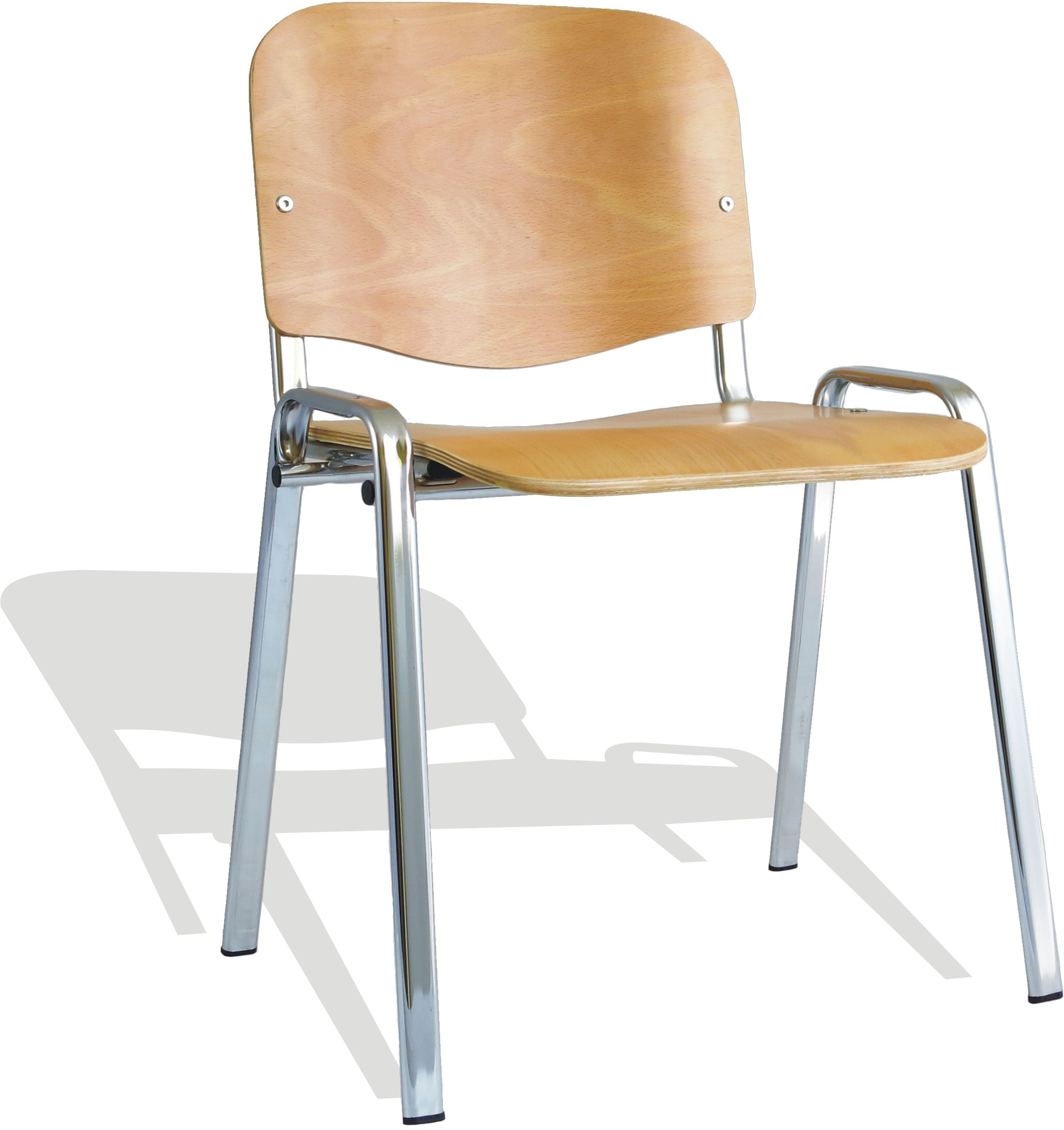 Iso Wooden Stacking Chair Min Order Qty X 4