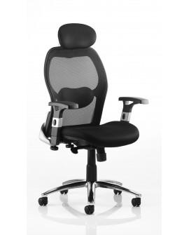 Sanderson Ht adj Arms Mesh Back Chair