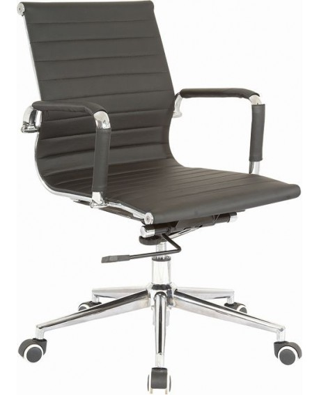 Cross Bonded Leather Executive Chair