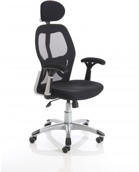 Sanderson Fixed Arm Mesh Back Chair