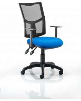Eclipse II Bespoke Mesh Back Task Operator Chair