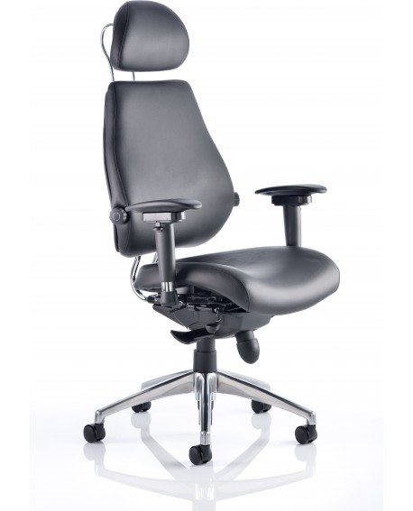 Chiro Plus Ultimate Bonded Leather Posture Chair