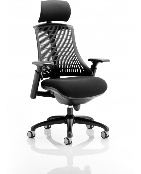 Flex Black Frame Task Operator Chair