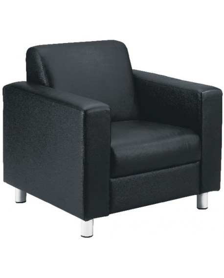 Avior Leather Look Executive Reception Chair