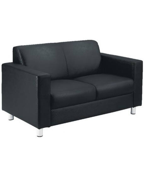 Avior Leather Look Executive Reception Sofa