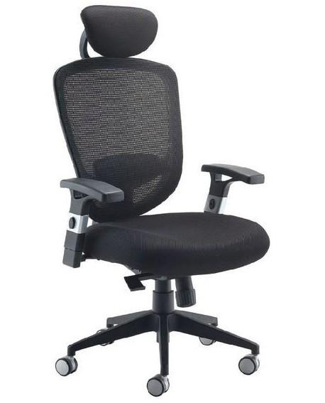 Arista High Back Mesh Task Chair with Headrest