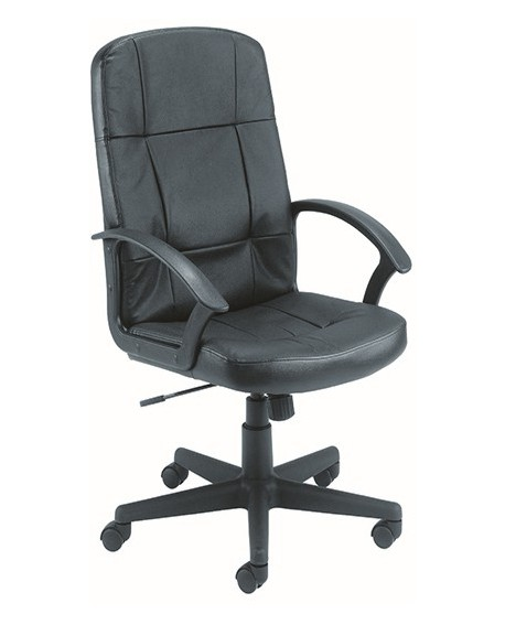 Jemini Thames Leather Look Executive Chair With Arms