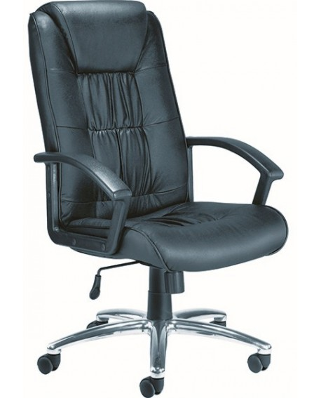 Jemini Tiber Leather Faced Executive Chair