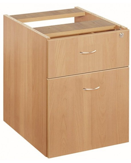 Jemini 2 Drawer Fixed Pedestal