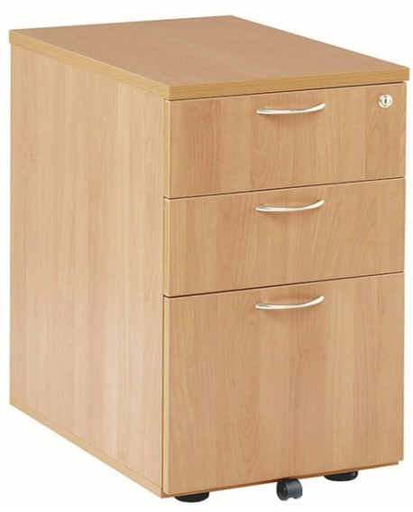Jemini 3 Drawer Under Desk Pedestal
