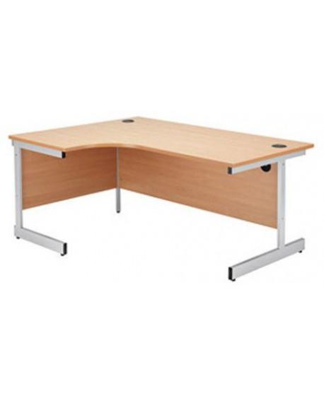 Jemini Cantilever Radial Desk