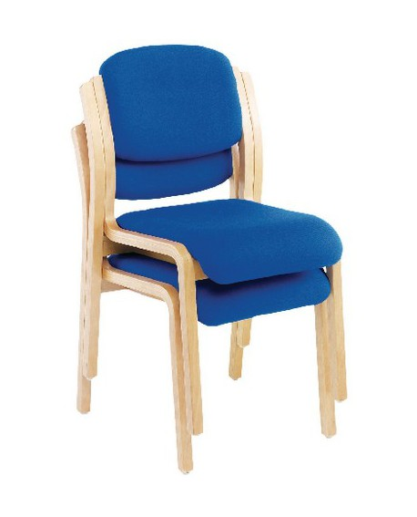 Jemini Wood Frame Side Chair No Arms