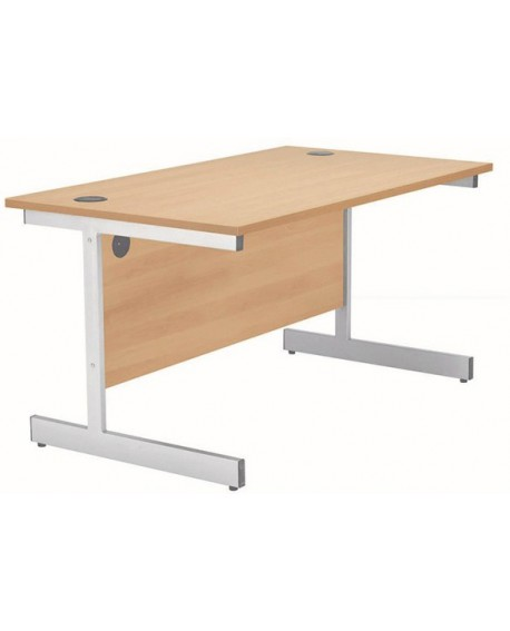 Jemini Rectangular Cantilever Desk