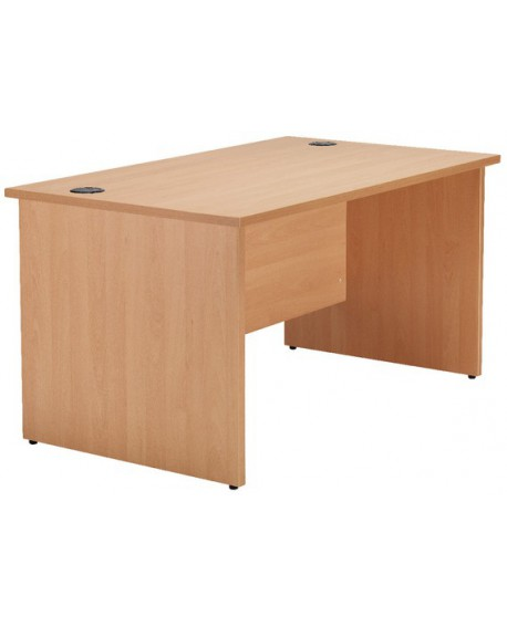 Jemini Rectangular Panel End Desk