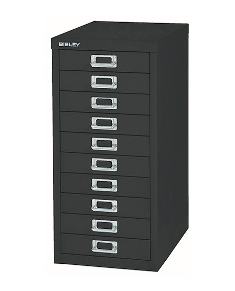 Bisley 10 Drawer Non-Locking Multi-Drawer Cabinet
