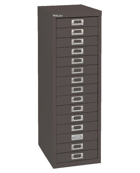 Bisley 15 Drawer Non-Locking Multi-Drawer Cabinet