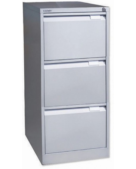 Bisley 3 Drawer lockable Flush Fronted Filing Cabinet