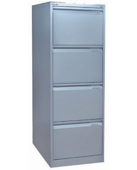 Bisley 4 Drawer lockable Flush Fronted Filing Cabinet