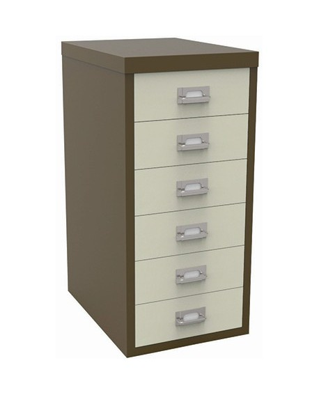 Bisley 6 Drawer Non-Locking Multi-Drawer Cabinet