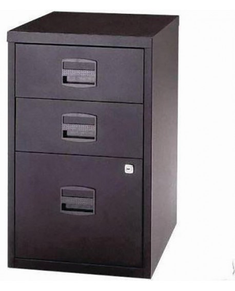 Bisley A4 3 Drawer Lockable Home Filer