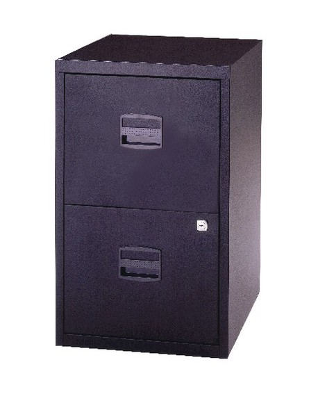 Bisley A4 2 Drawer Lockable Personal Filing Cabinet