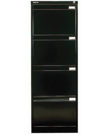 Bisley Four-Drawer Filing Cabinet