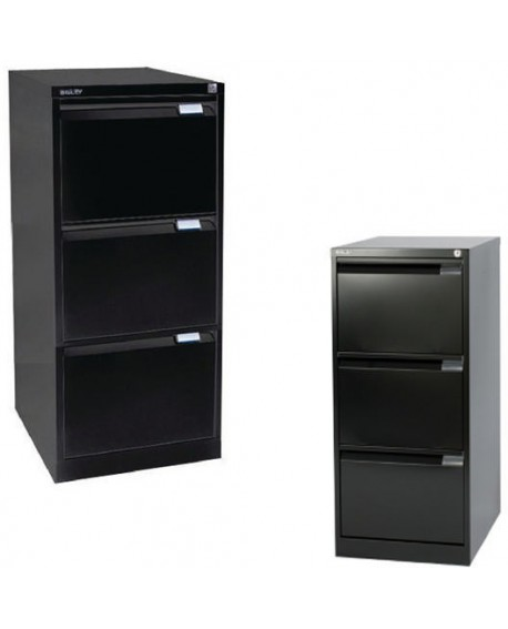 Bisley Three-Drawer Filing Cabinet