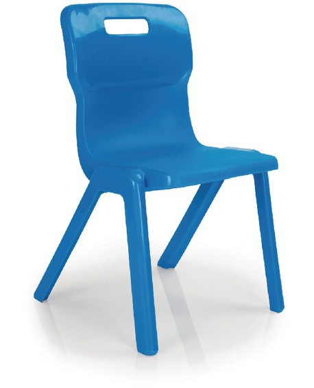 Titan Size 3 One Piece School Chair